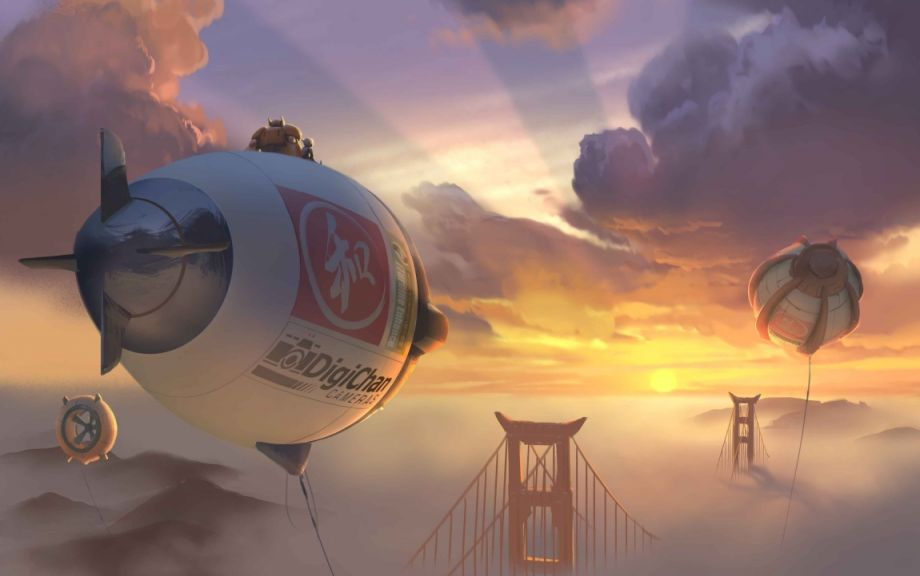 Big Hero 6 - Airborne Wind Turbines