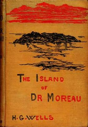 The Island of Doctor Moreau - Book Cover